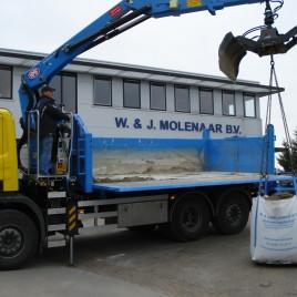 Uitknijpen vrachtwagen (11 t/m 15 m3)