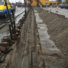 Sanering kabels en leidingen Uniper (EON) Galileistraat Rotterdam